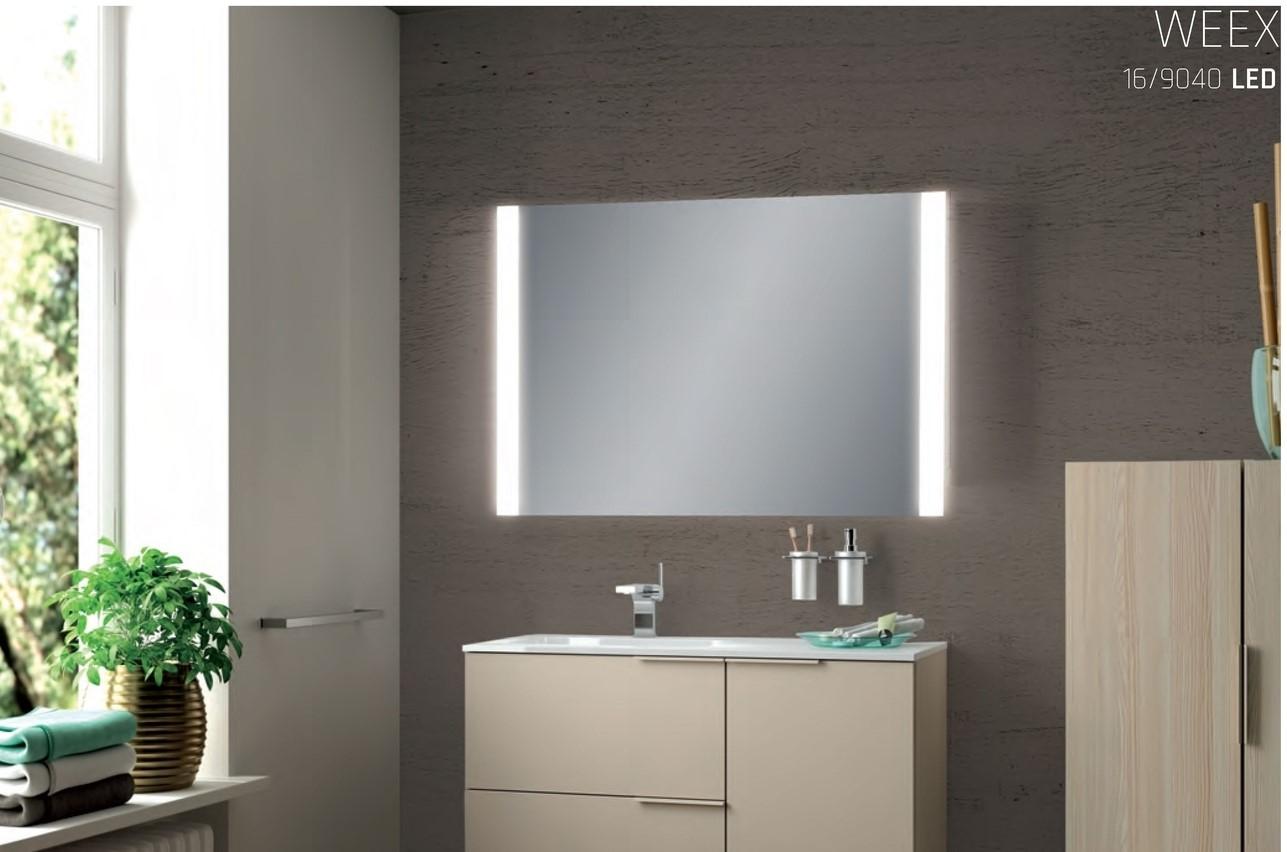 Acb weex applique specchio con illuminazione led integrata
